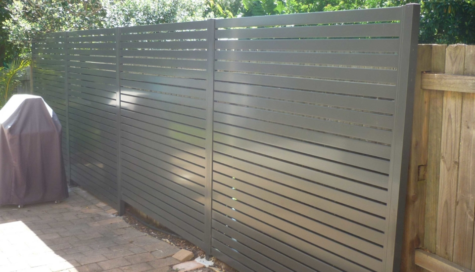 Slat Privacy Screen Fencing