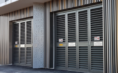 Acoustic Louvres and Substation Doors